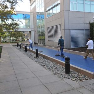 LSI Bocce Fusion Mat Rolling
