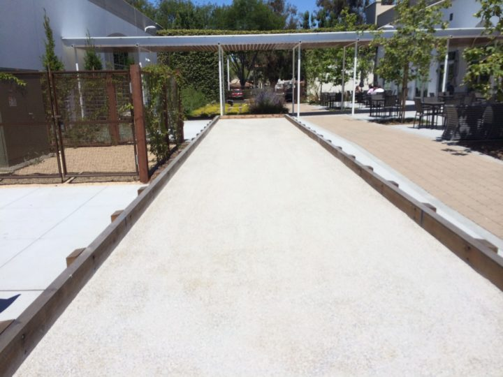 Pacific Pearl Bocce Completed Surface