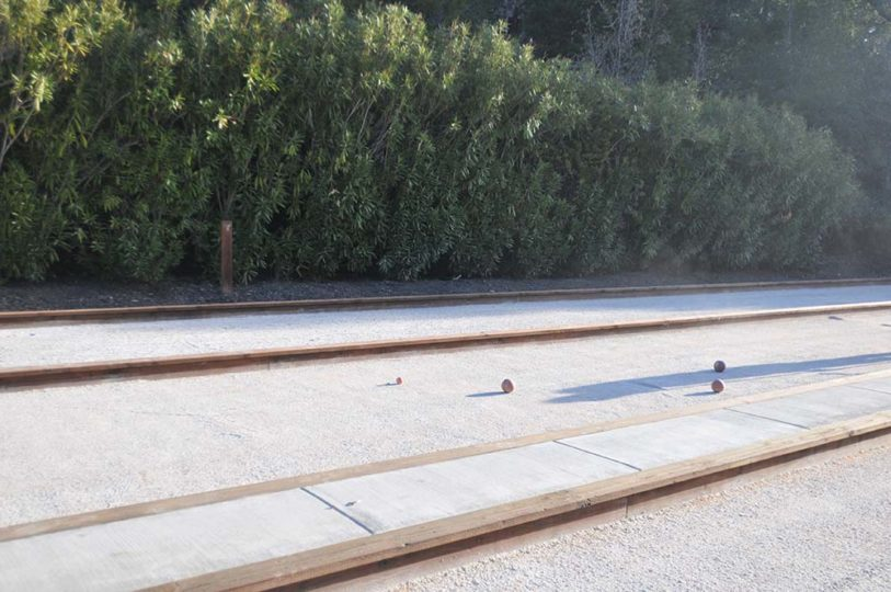 Oakmont Bocce Courts Complete Pacific Pearl