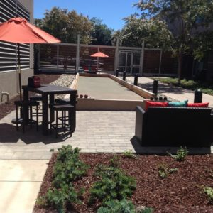 LSI Bocce Court Finished