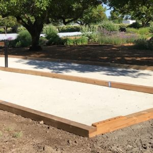 Kendall Jackson Winery Bocce Courts